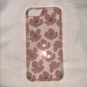 3 for $20....clear and floral phone case